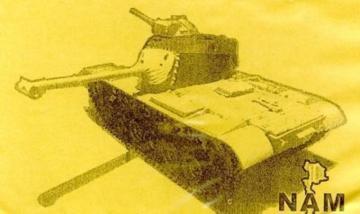 M48A1 Patton Tank Conversion · HF 025 ·  Hobby Fan · 1:35