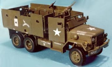 M35A1 Gun Truck (II) A.P.C. Conversion · HF 027 ·  Hobby Fan · 1:35