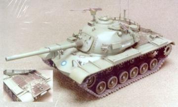 R.O.C. CM12 Patton Tank Conversion · HF 031 ·  Hobby Fan · 1:35