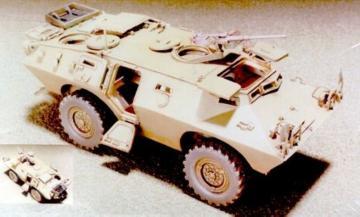 V150 Commando 4x4 Armored Cars W/Interio · HF 033 ·  Hobby Fan · 1:35