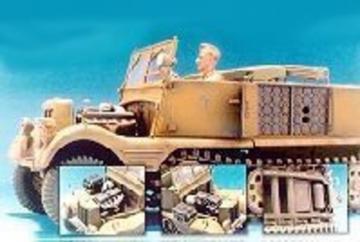 Sd.Kfz.11 3T Engine/Fuel Tank/7.5cm · HF 037 ·  Hobby Fan · 1:35