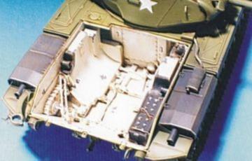 M41 /M42 /M52 Engine Interior · HF 041 ·  Hobby Fan · 1:35
