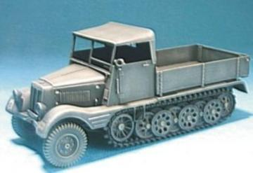 Sd. Kfz.11/1 with wood Cab Conversion · HF 054 ·  Hobby Fan · 1:35