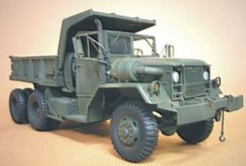 U.S.M51 Dump 5 Ton 6x6 · HF 055 ·  Hobby Fan · 1:35