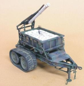M58 Mine Cleaning Line Charge/M200 Tr. · HF 058 ·  Hobby Fan · 1:35