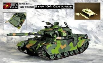 Swedish STRV 104 Centurion · HF 066 ·  Hobby Fan · 1:35