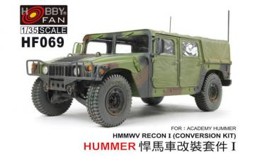 Conversion HMMWV for HUMMER-I ACADEMY · HF 069 ·  Hobby Fan · 1:35