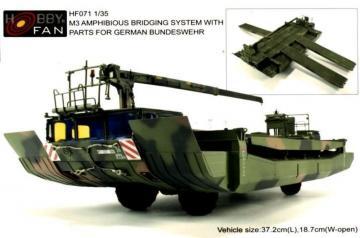 M3 Amphibious Rig · HF 071 ·  Hobby Fan · 1:35