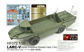 LARC-V (V.N. War early Type) · HF 072 ·  Hobby Fan · 1:35