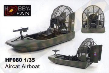 Aircat Airboat (complete resin kit) · HF 080 ·  Hobby Fan · 1:35