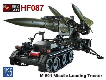 M-501 Missile Loading Tractor · HF 087 ·  Hobby Fan · 1:35