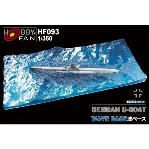 Wave Base - German U-Boat · HF 093 ·  Hobby Fan · 1:350