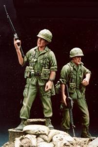 196th Inf Bde safeguards Vietnam ´68 w/B · HF 502 ·  Hobby Fan · 1:35