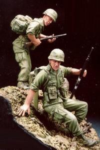 173rd Abn Bde Vietnam 1968 with Base · HF 504 ·  Hobby Fan · 1:35