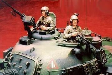 Tank crew for M48H RROC · HF 506 ·  Hobby Fan · 1:35