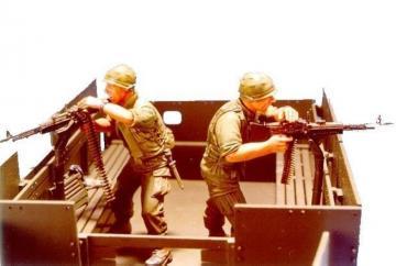 Gun truck Crew (1)- 2 Figures · HF 532 ·  Hobby Fan · 1:35