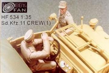 Sd.Kfz.11 Crew(1) · HF 534 ·  Hobby Fan · 1:35