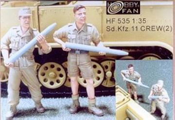 Sd.Kfz.11 Crew(2) · HF 535 ·  Hobby Fan · 1:35