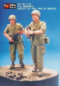 U.S. Marines Battle of Hue 1968 (6) w/B · HF 543 ·  Hobby Fan · 1:35