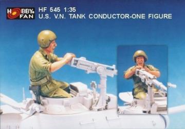 U.S. V.N. Tank Conductor- 1 Figure · HF 545 ·  Hobby Fan · 1:35