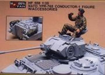 Nato YPR-765 conductor- 1 Fig. w/acc. · HF 558 ·  Hobby Fan · 1:35