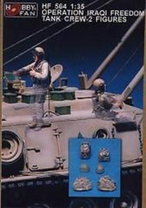 Operation Iraqi Freedom Tank Crew-2 Fig. · HF 564 ·  Hobby Fan · 1:35