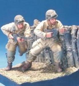 U.S. Airborn in D-Day 2 Figures · HF 565 ·  Hobby Fan · 1:35