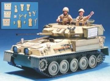 Brit. Tank Crew w/Access.(Op.Iraqi Free. · HF 566 ·  Hobby Fan · 1:35
