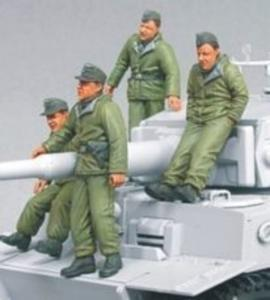 Waffen SS Tiger I Crew (eastern Front) · HF 567 ·  Hobby Fan · 1:35