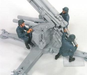88mm Flak Crew Set 2(Luftwaffe)-3 Fig. · HF 569 ·  Hobby Fan · 1:35