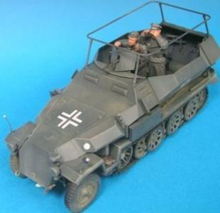 German HG Panzer Div. Command Crew- 2Fig · HF 580 ·  Hobby Fan · 1:35