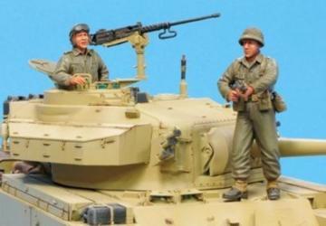 IDF Centurion MK.5 (6 day war) Crew-2Fig · HF 581 ·  Hobby Fan · 1:35