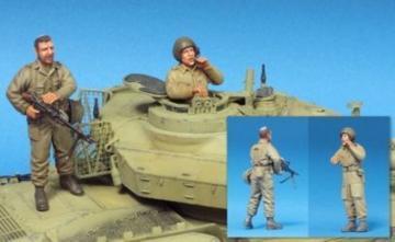 IDF Shot Kal Crew- 2 Figures · HF 583 ·  Hobby Fan · 1:35