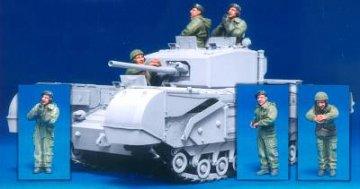 Brit. Church. Tank Cr. (II) West Fr./3F · HF 586 ·  Hobby Fan · 1:35