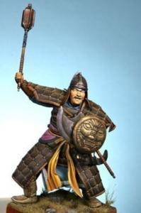 Mongols Warrior A.D. 1274-A.D. 1281 (1) · HF 601 ·  Hobby Fan · 1:16