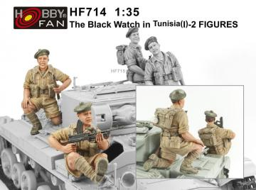 The Black Watch in Tunisia(1)-2 Figures · HF 714 ·  Hobby Fan · 1:35