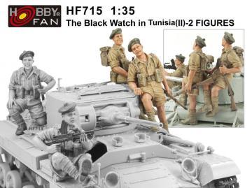 The Black Watch in Tunisia(2)-2 Figures · HF 715 ·  Hobby Fan · 1:35