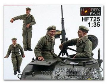 Crew for Chaffee light Tank · HF 725 ·  Hobby Fan · 1:35