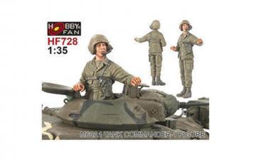 M60A1 Tank Commander - 1 Figure · HF 728 ·  Hobby Fan · 1:35