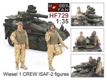 Wiesel 1 Crew ISAF - 2 figures · HF 729 ·  Hobby Fan · 1:35