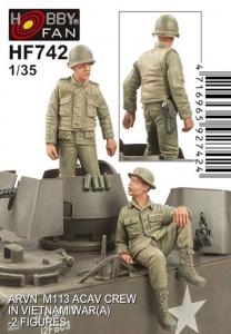 ARVN M113 Crew(1)-2 Figures · HF 742 ·  Hobby Fan · 1:35