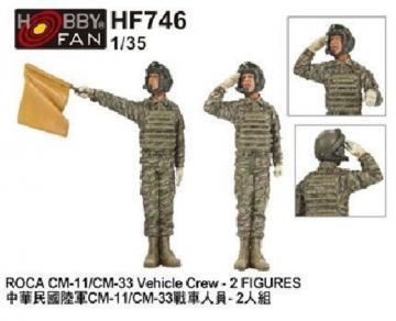 ROCA CM-11/CM-33 Vehicle Crew (2 Figuren) · HF 746 ·  Hobby Fan · 1:35
