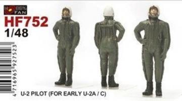 U-2 Pilot (for early U-2A/C) · HF 752 ·  Hobby Fan · 1:48