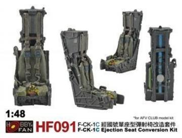 F-CK-1C - Ejection Seat Conversion kit [AFV Club] · HF 91 ·  Hobby Fan · 1:48