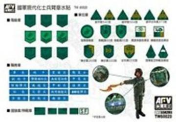 ROC Modern Military Armband Decal · HF TW60020 ·  Hobby Fan · 1:35