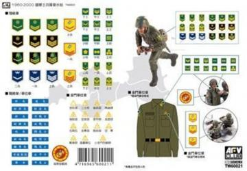 ROC Army 1960-2000 Military Armband Decal · HF TW60021 ·  Hobby Fan · 1:35