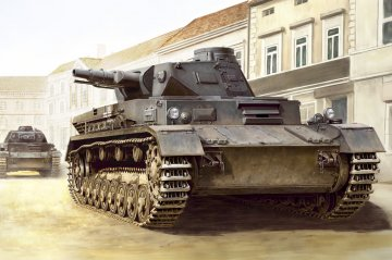 German Panzerkampfwagen IV Ausf C · HBO 80130 ·  HobbyBoss · 1:35