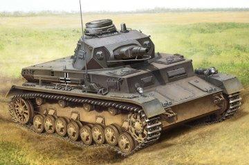 German Panzerkampfwagen IV Ausf B · HBO 80131 ·  HobbyBoss · 1:35