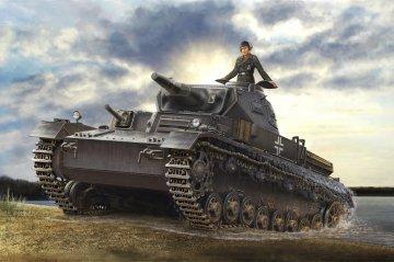 German Panzerkampfwagen IV Ausf D / TAUCH · HBO 80132 ·  HobbyBoss · 1:35