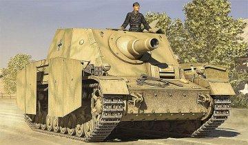 German SturmPanzerIV early Sd.Kfz.166 Brummbar · HBO 80134 ·  HobbyBoss · 1:35